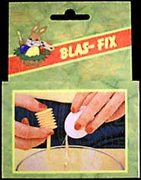 One hole egg blower 'Blas-Fix'.